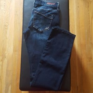 Express Barely Boot Lowrise Jeans Size 8